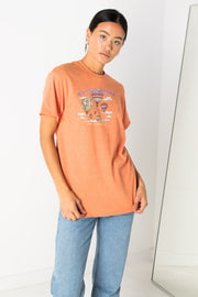 Daisy Street Relaxed T-Shirt with Balloon Fiesta Print