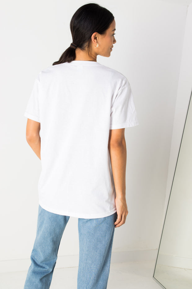 Daisy Street Relaxed T-Shirt with Daisy St Print