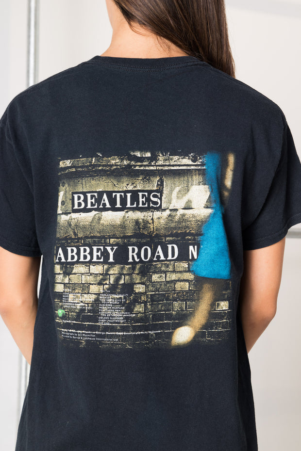 Daisy Street Vintage T-Shirt with The Beatles Print