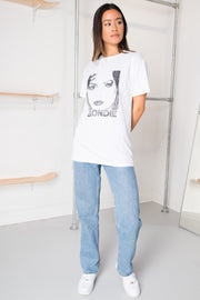 Daisy Street Relaxed T-Shirt with Blondie B&W Print