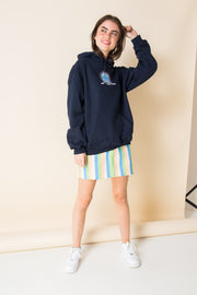 Daisy Street X Mocean Oversized Hoodie with Niagara Falls Print
