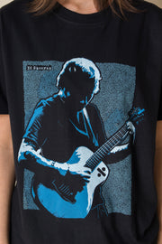 Daisy Street Relaxed T-Shirt with Ed Sheeran Print