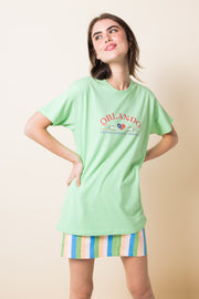Daisy Street X Mocean Oversized T-Shirt with Orlando Print