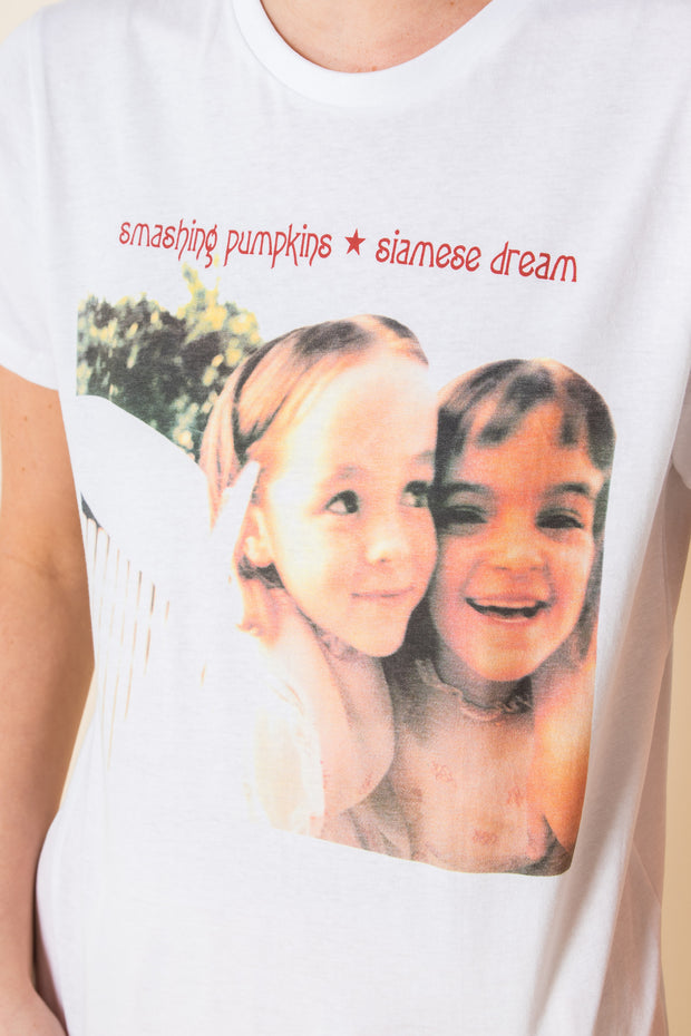Daisy Street Relaxed T-Shirt with Smashing Pumpkins Print