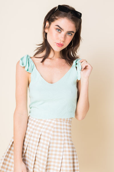 Daisy Street Knitted Cami Top