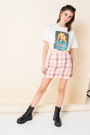 Daisy Street Relaxed T-Shirt with Blondie Picture This Print
