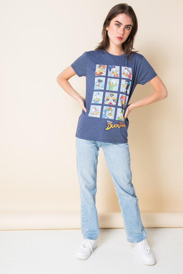 Daisy Street Relaxed T-Shirt with Donald Duck Print