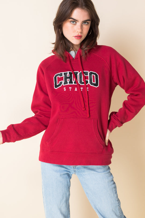 Daisy Street Vintage Hoodie with Chico State Embroidery