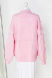 Daisy Street Oversized Cable Knit Jumper