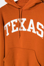Daisy Street Vintage Russell Athletic Hoodie with Texas Fabric Embroidery