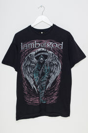Daisy Street Vintage T-Shirt with Lamb of God Print