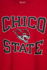 Daisy Street Vintage Champion T-Shirt with Chico State Print