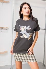 Daisy Street Relaxed T-Shirt with Disney Thumper Print