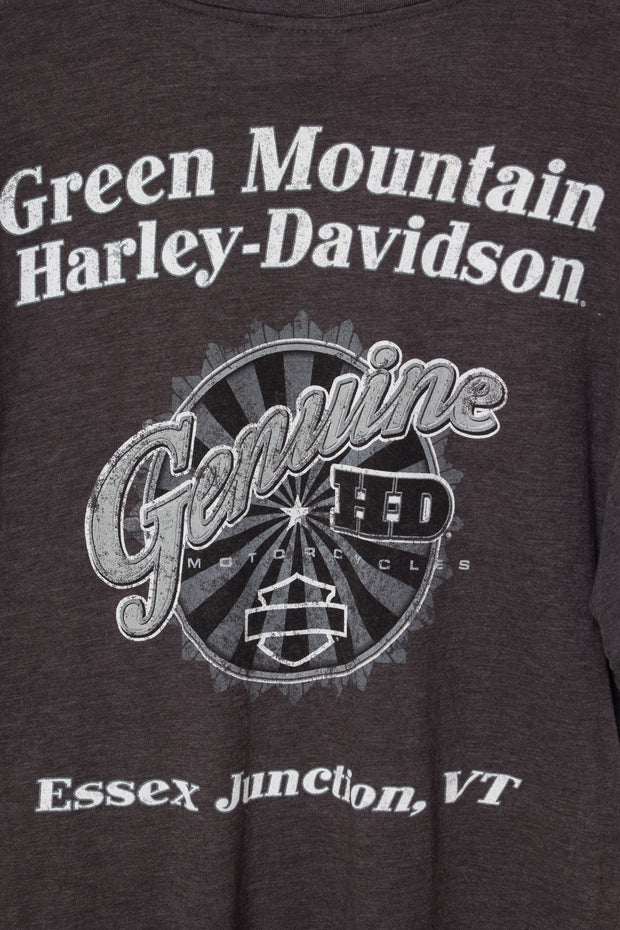 Daisy Street Vintage T-Shirt with Harley Davidson American Freedom Print