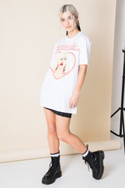 Daisy Street Relaxed T-Shirt with Blondie Heart Print