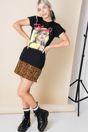 Daisy Street Relaxed T-Shirt with Blondie Print