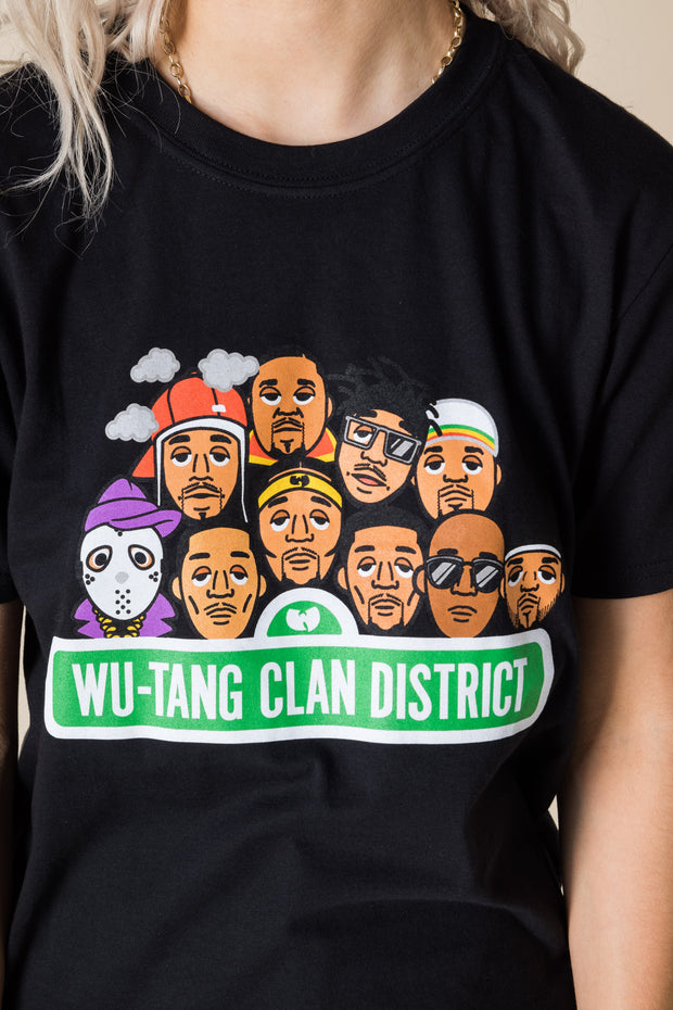 Daisy Street Relaxed T-Shirt with Wu-Tang Clan Print