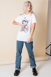 Daisy Street Relaxed T-Shirt with Vintage ET Print