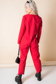 Daisy Street Relaxed Boilersuit