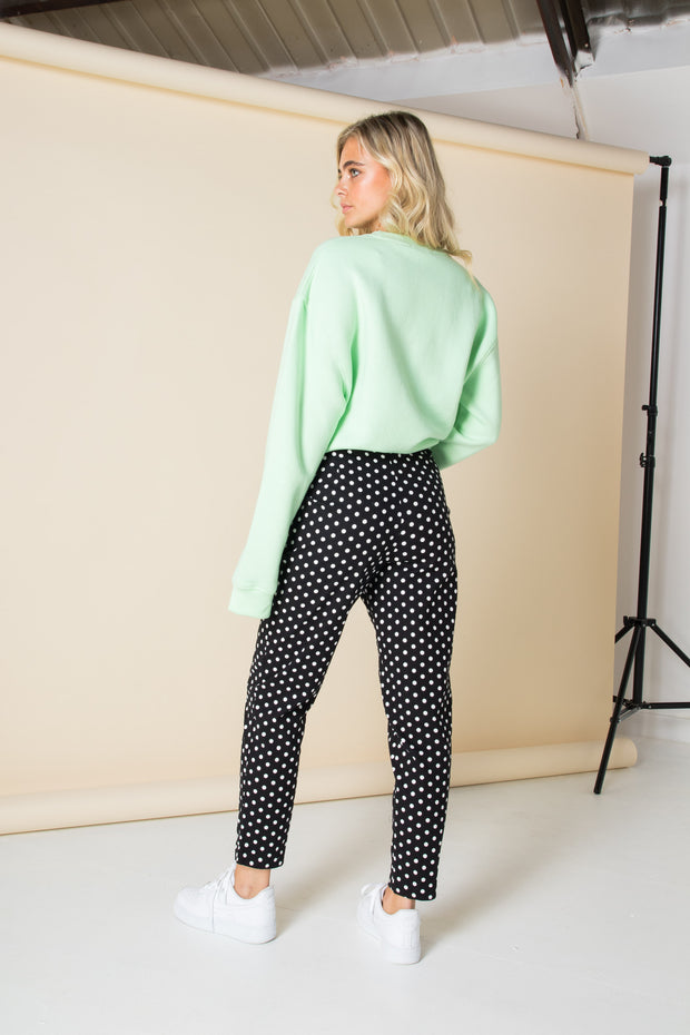 Daisy Street Cigarette Trousers in Polka Dot