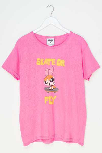 Daisy Street Relaxed T-Shirt with Powerpuff Girls Print