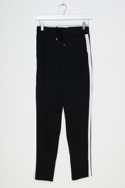 Daisy Street Lightweight Loungewear Tracksuit in Black