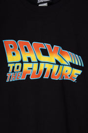 Daisy Street Relaxed T-SHirt with Back to the Future Print