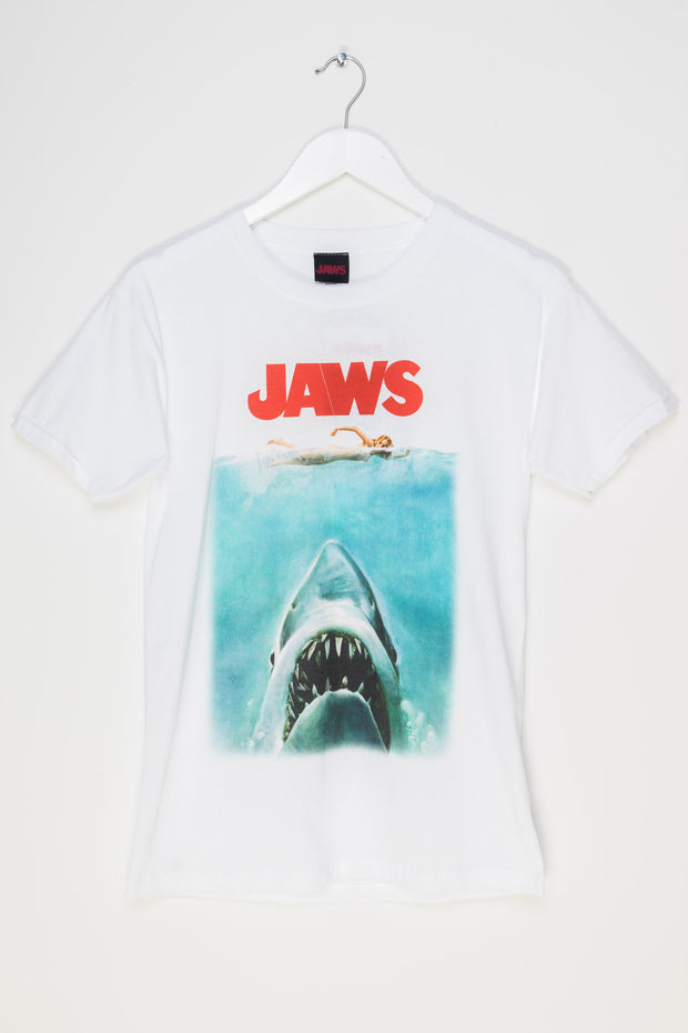 Daisy Street Relaxed T-Shirt with Jaws Print
