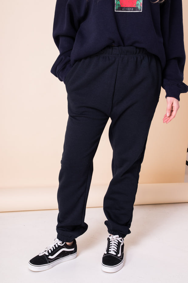 Daisy Street Oversized Jogger with Zipped Pockets