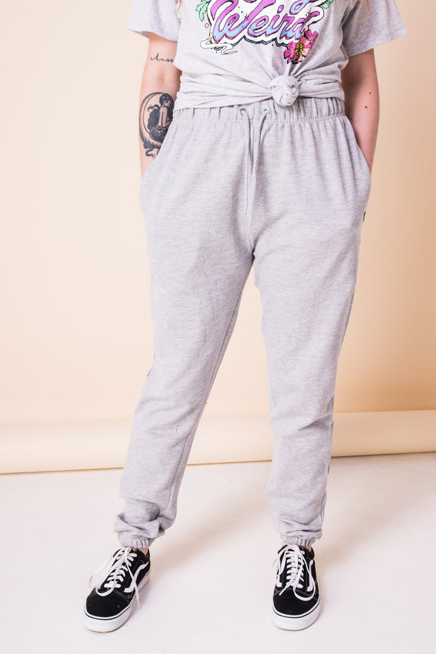 Daisy Street Oversized Jogger with Zipped Pockets and Drawstring