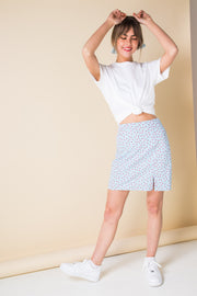 Daisy Street Mini Skirt in Ditsy Floral