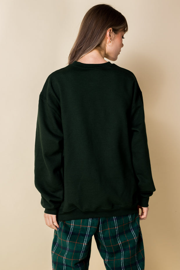 Daisy Street Relaxed Sweatshirt With Paynes Prairie Print