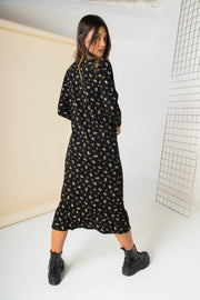 Daisy Street Midaxi Smock Dress in Ditsy Floral
