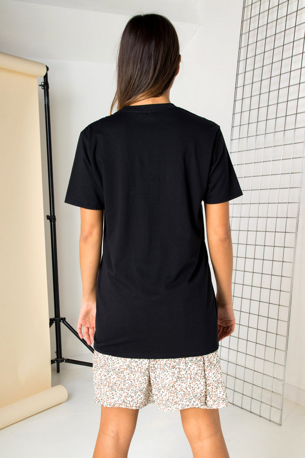 Daisy Street Relaxed T-Shirt with National Park Print