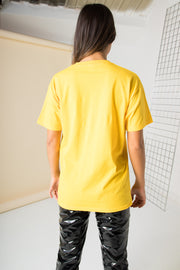 Daisy Street Relaxed T-Shirt with Hello Sunshine Print