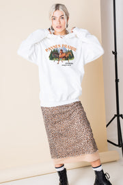 Daisy Street Oversized Hoodie with Paynes Prairie Print