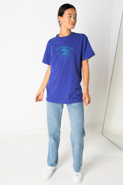 Daisy Street Relaxed T-Shirt with Sparkling Clean Print