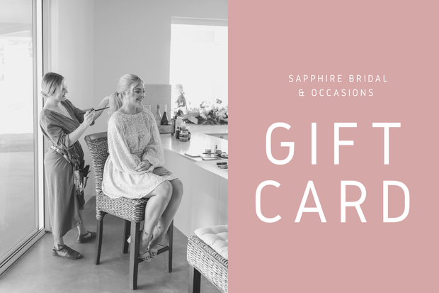 Sapphire Bridal & Occasions Gift Card