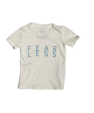 Load image into Gallery viewer, Fearless Kids Tee in Coconut