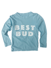 Load image into Gallery viewer, Best Bud Long Sleeve in Sea Blue