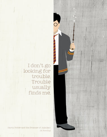 Harry Potter Quote  / JK Rowling