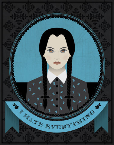 Wednesday Addams Quote