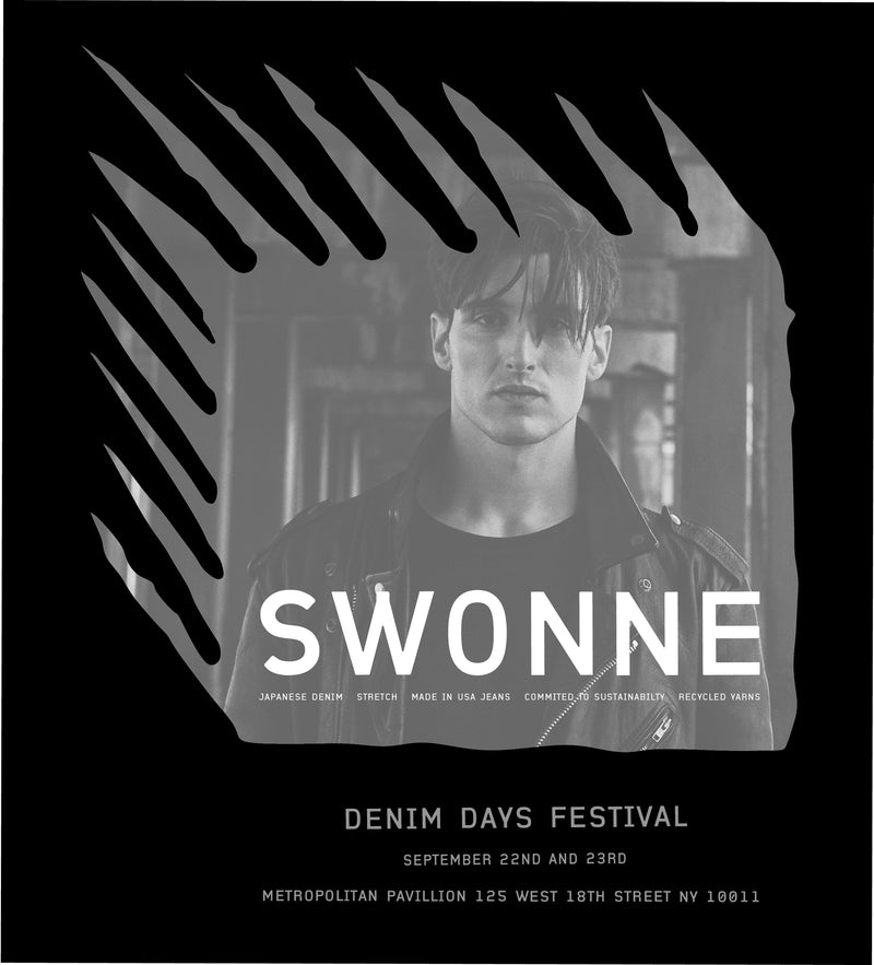 SWONNE AT DENIM DAYS FESTIVAL - NYC - SEPT 22ND - 23RD