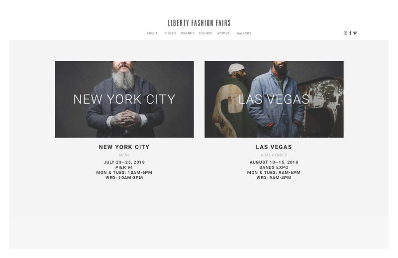 SWONNE at Liberty Fairs - NYC and Las Vegas