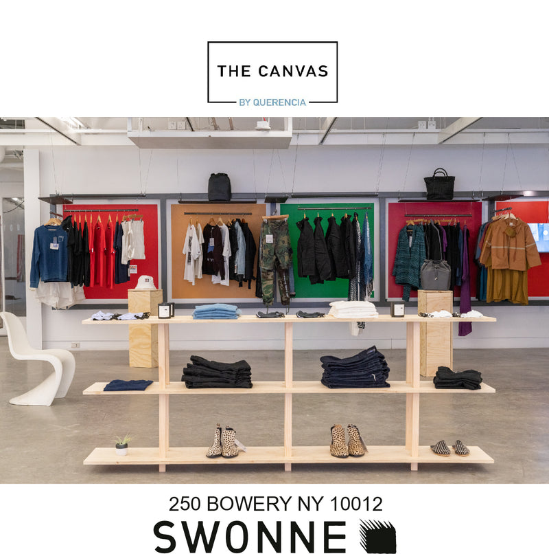 Canvas store at 250 bowery, sustainable and ethical brands