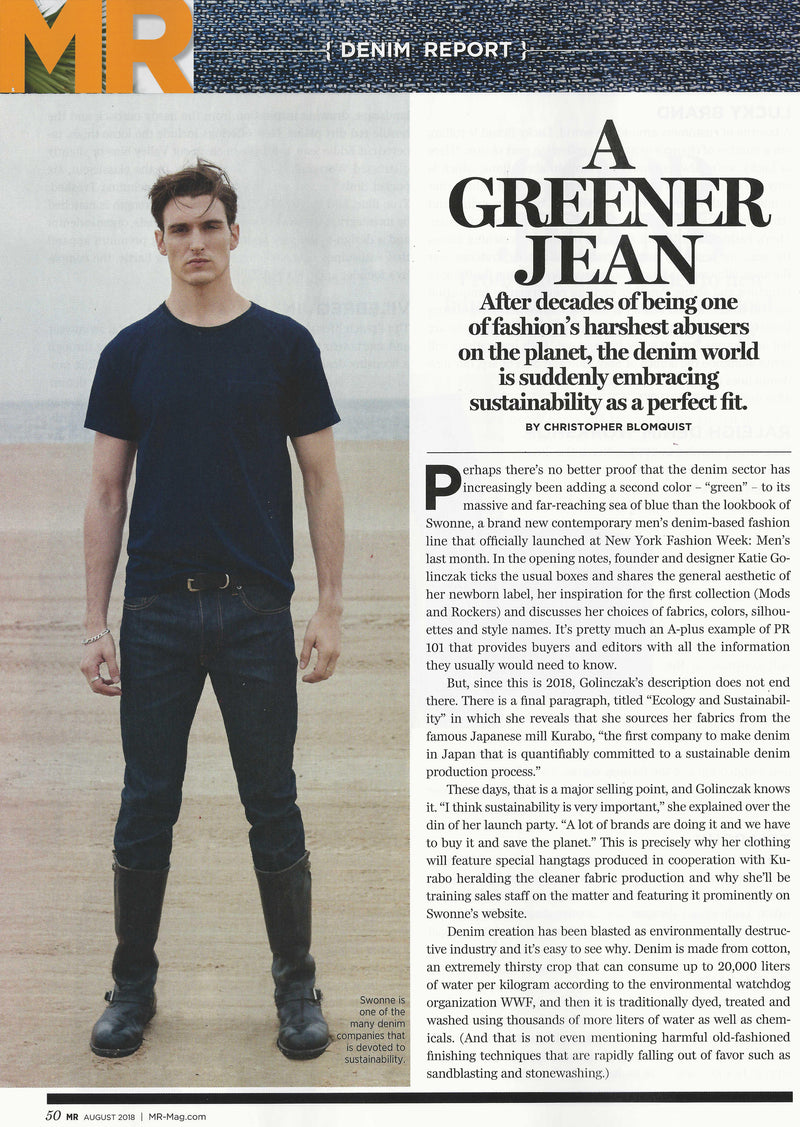 MR Magazine - Denim Report - August 2018