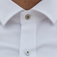 Kings White Shirt- Stretch