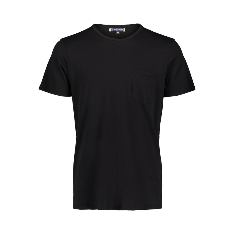 Hoxton Crew Tee- Two Pack Black