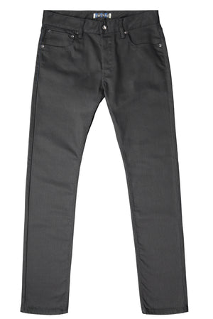 black japanese denim, stretch, sustainable
