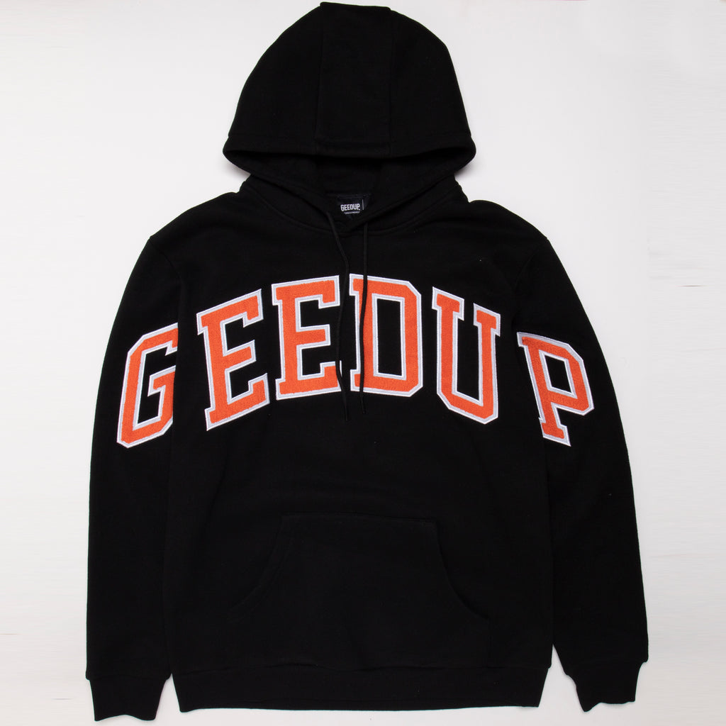 Team Logo Hoody Black